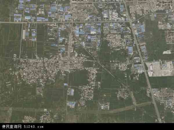 中国山东省枣庄市市中区永安乡地图(卫星地图)