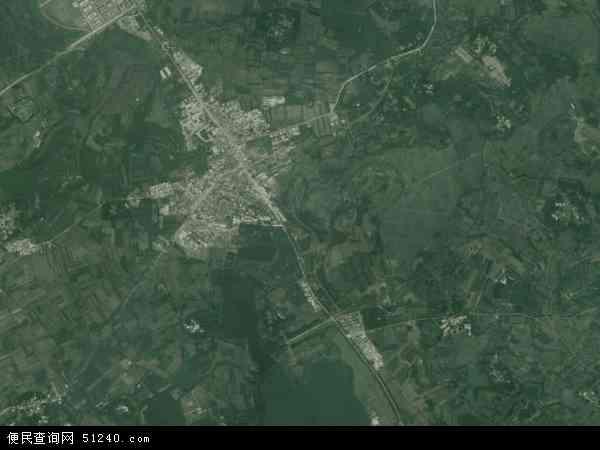 中国海南省海口市琼山区云龙镇地图(卫星地图)
