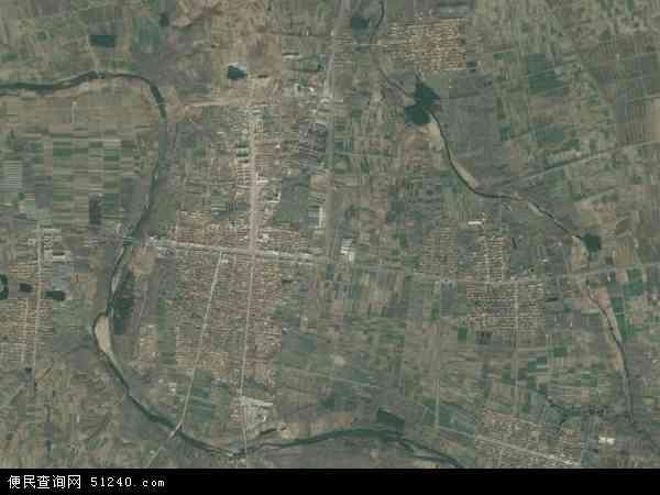 壮岗镇高清卫星地图