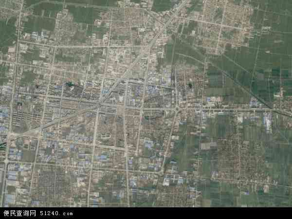 中国山东省菏泽市曹县庄寨镇地图(卫星地图)