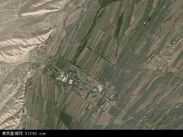 中国新疆维吾尔自治区塔城地区沙湾县博尔通古乡地图