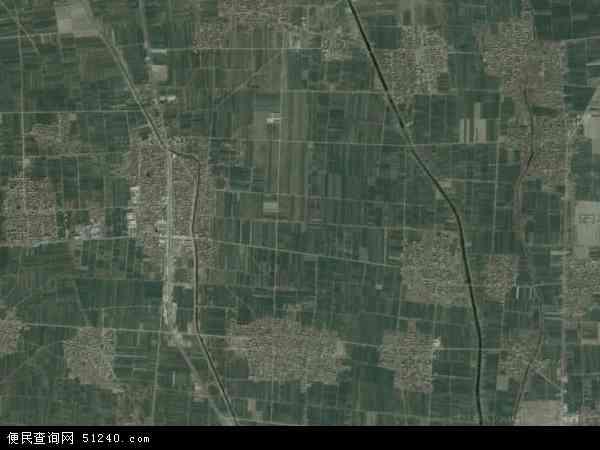 中国河南省商丘市睢县白庙乡地图(卫星地图)