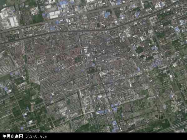 川沙新镇高清航拍地图