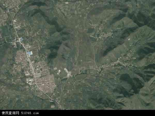中国河北省唐山市遵化市东旧寨镇地图(卫星地图)
