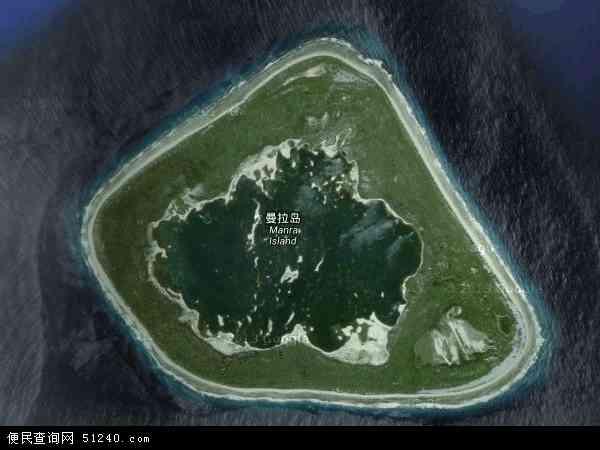 菲尼克斯群岛地图 - 菲尼克斯群岛卫星地图