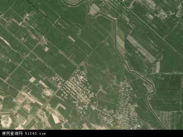 中国新疆维吾尔自治区塔城地区乌苏市甘家湖牧场地图