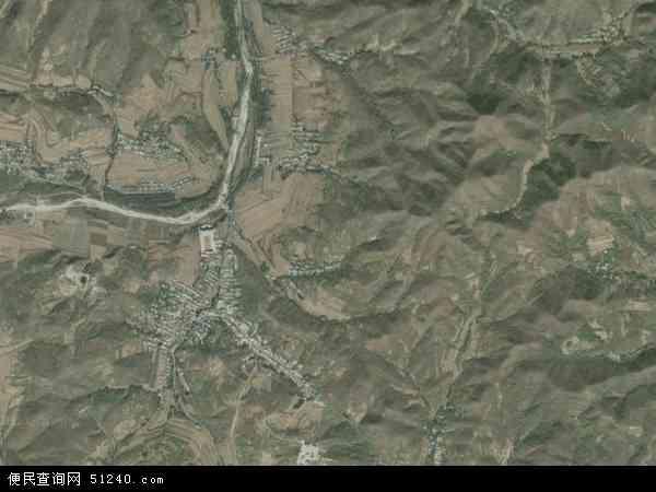 中国辽宁省葫芦岛市南票区缸窑岭镇地图(卫星地图)