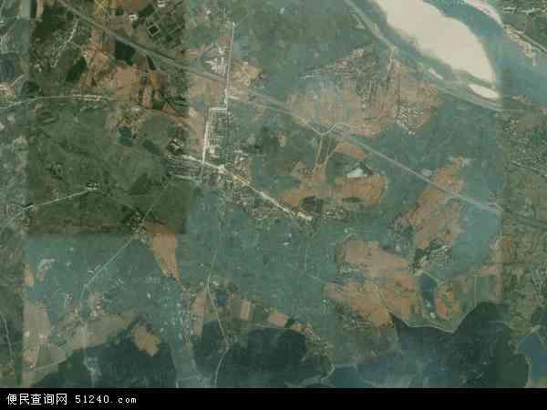 中国江西省南昌市南昌县黄马乡地图(卫星地图)