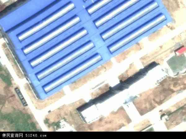 中国湖北省襄阳市老河口市洪山嘴镇地图(卫星地图)