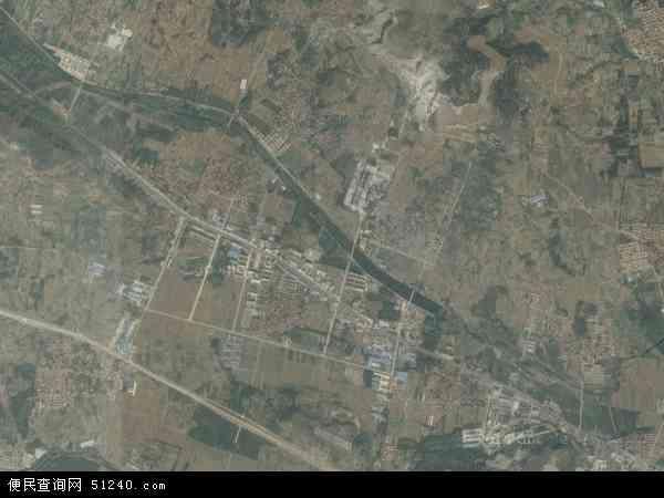 中国山东省临沂市沂水县黄山铺镇地图(卫星地图)