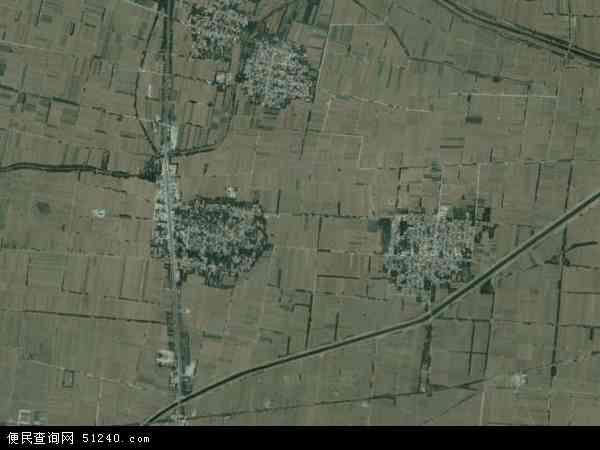 中国河南省新乡市封丘县居厢乡地图(卫星地图)