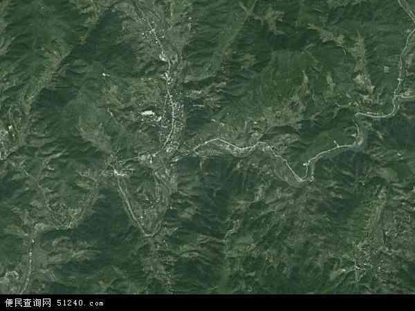 中国福建省宁德市古田县吉巷乡地图(卫星地图)