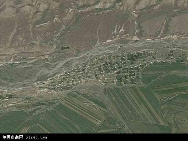 中国新疆维吾尔自治区塔城地区额敏县喀拉也木勒乡地图(卫星地图)