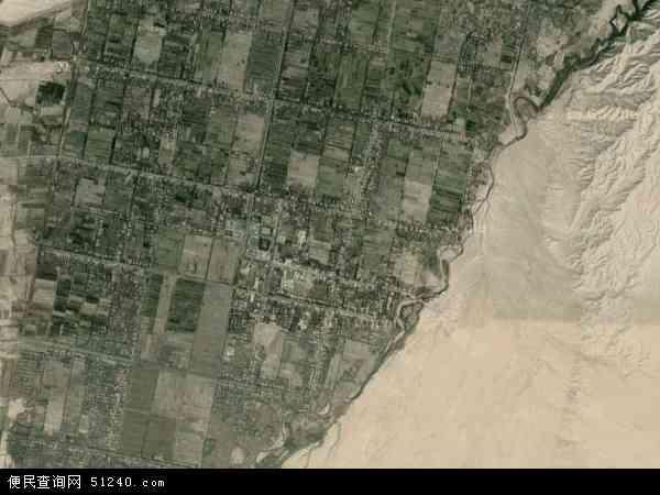 阔什塔格乡地图 - 阔什塔格乡卫星地图