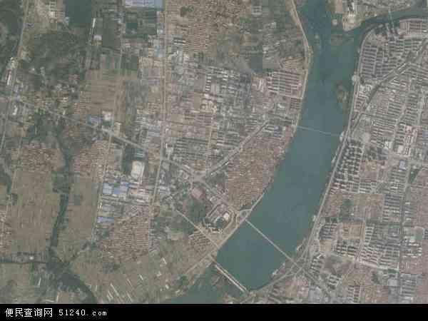 中国山东省临沂市沂水县龙家圈镇地图(卫星地图)