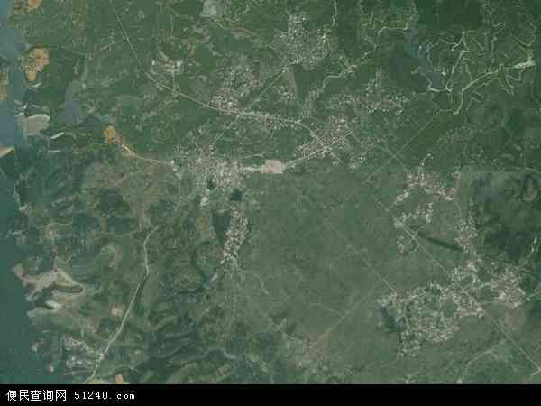 莲塘镇地图 - 莲塘镇卫星地图 - 莲塘镇高清航拍图片