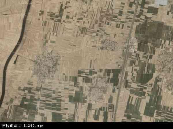 中国河北省邯郸市邱县南辛店乡地图(卫星地图)