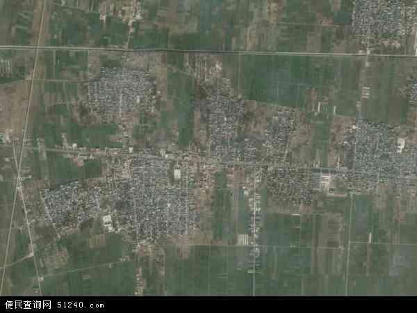 中国河北省邯郸市临漳县南东坊镇地图(卫星地图)