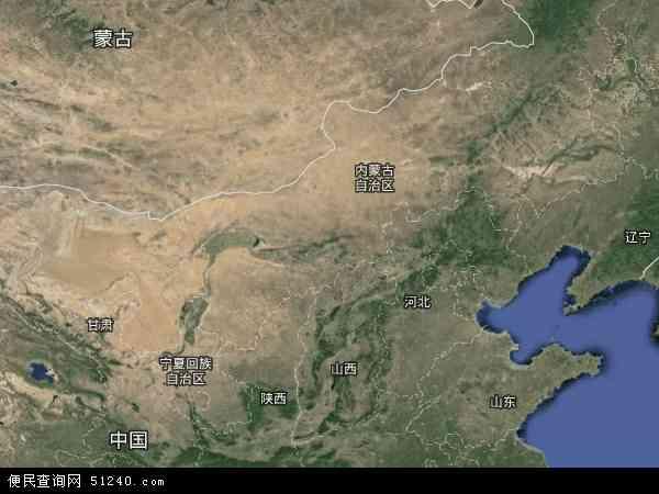 内蒙古自治区地图 - 内蒙古自治区卫星地图图片图片