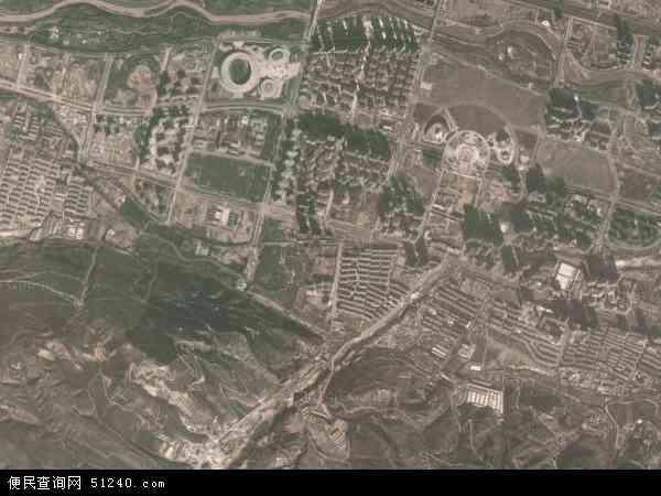 彭家寨镇高清卫星地图 彭家寨镇2017年卫星地图 中国青海省西宁市图片