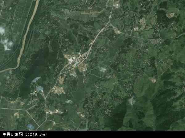 平山镇地图 - 平山镇卫星地图 - 平山镇高清航拍