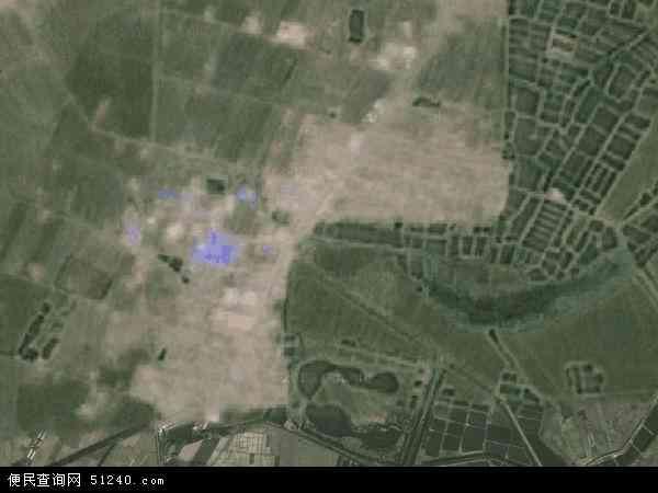中国辽宁省沈阳市新民市前当堡镇地图(卫星地图)