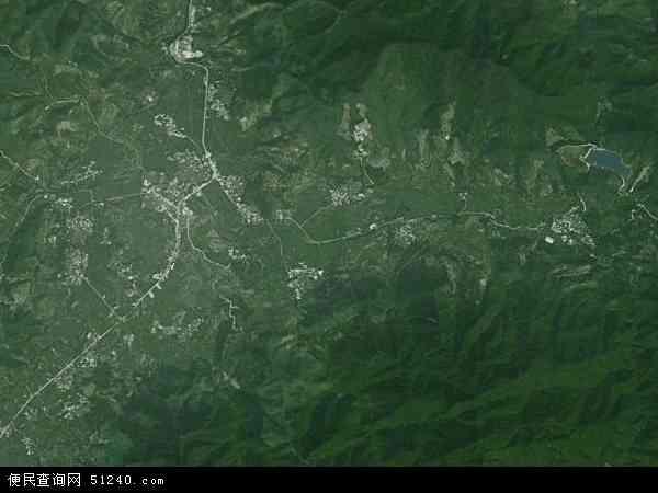 中国广东省云浮市云安县前锋镇地图(卫星地图)