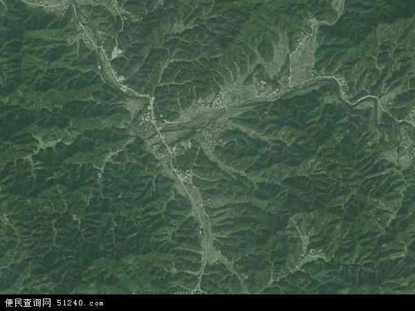 中国江西省吉安市永丰县上固乡地图(卫星地图)