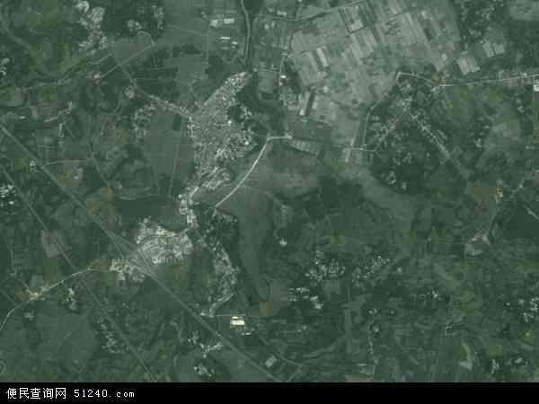 中国海南省海口市美兰区三江镇地图(卫星地图)