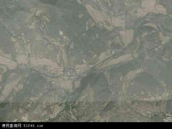 中国辽宁省朝阳市北票市三宝营乡地图(卫星地图)