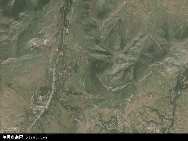 中国山东省济宁市泗水县圣水峪镇地图(卫星地图)