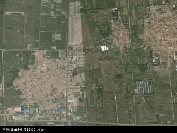 中国天津市武清区石各庄镇地图(卫星地图)