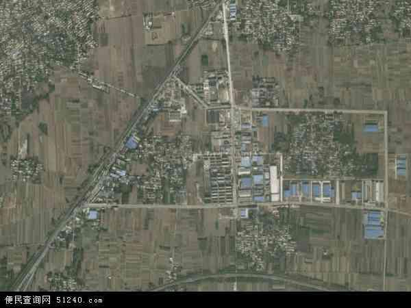 中国河北省保定市涿州市松林店镇地图(卫星地图)
