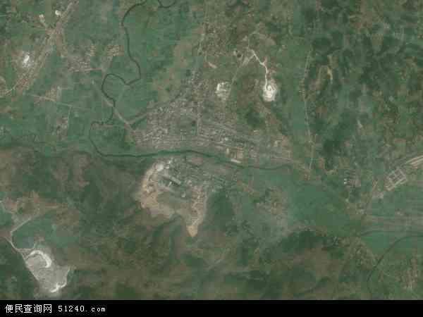双河镇高清卫星航拍地图