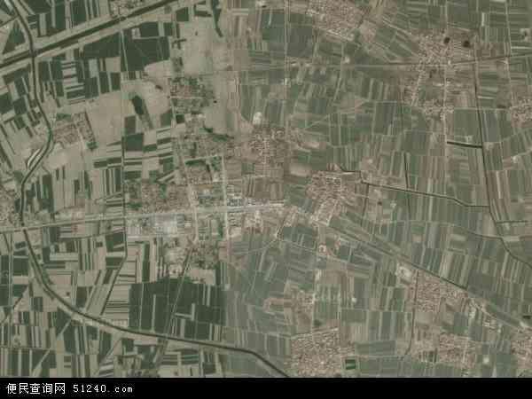 中国山东省淄博市高青县唐坊镇地图(卫星地图