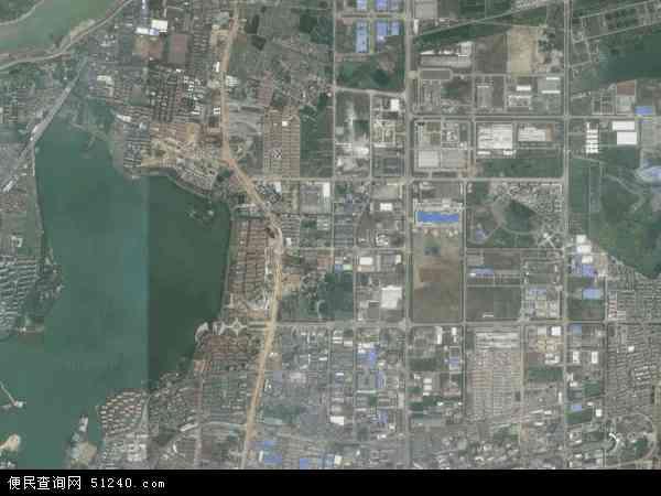 中国江西省南昌市青山湖区塘山镇地图(卫星地图)图片