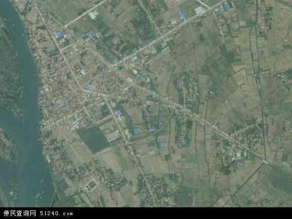 中国湖北省襄阳市樊城区太平店镇地图(卫星地图)