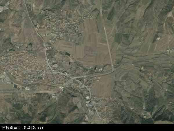 中国辽宁省鞍山市千山区唐家房镇地图(卫星地图)