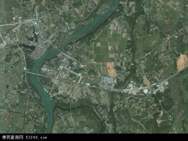 中国安徽省宣城市宣州区文昌镇地图(卫星地图)