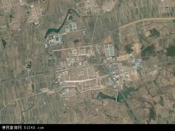 卫星地图 中国山东省威海市文登市汪疃镇地图图片