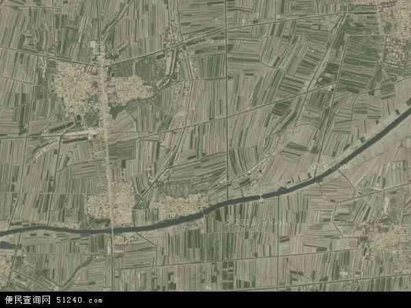 中国山东省滨州市无棣县西小王乡地图(卫星地图)