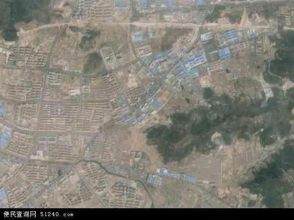 张村镇2018年卫星地图 中国山东省威海市环翠区张村镇地图