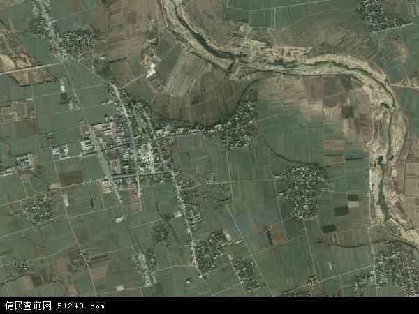 中国河南省南阳市邓州市张村镇地图(卫星地图)