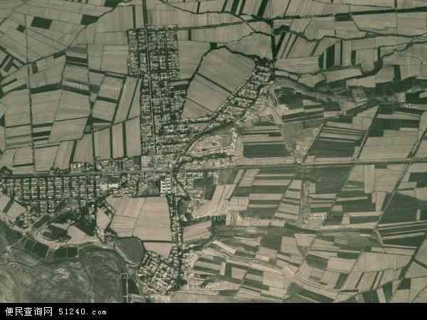 中国新疆维吾尔自治区伊犁哈萨克自治州伊宁县阿热吾斯塘乡地图(卫星