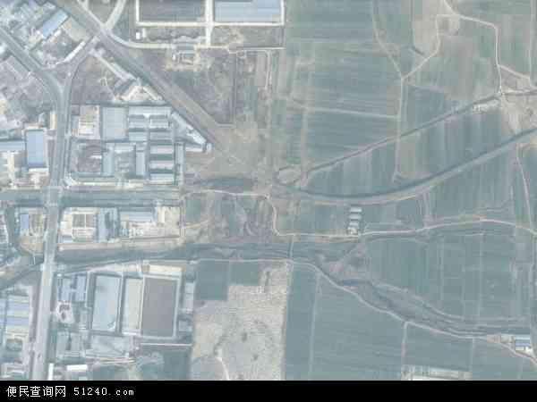渤海路办事处高清卫星航拍地图,渤海路办事处航拍照片,2015渤海路办事