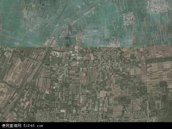 中国河北省邢台市威县常庄乡地图(卫星地图)
