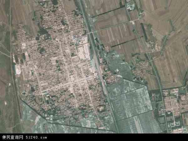扎兰屯市地图_成吉思汗镇地图 - 成吉思汗镇卫星地图 - 成吉思汗镇高清航拍地图