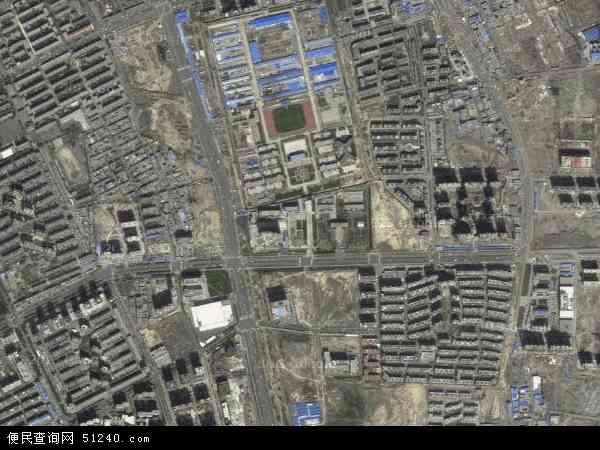自治区乌鲁木齐市新市区长春?#26032;?#22320;图(卫星地图)