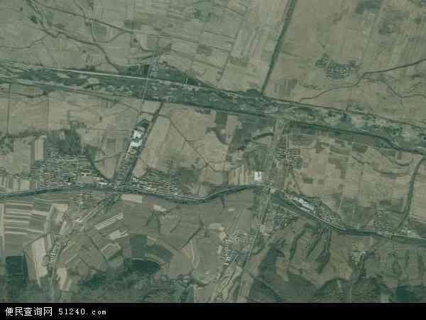 中国吉林省延边朝鲜族自治州和龙市东城镇地图