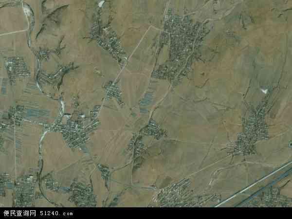 中国辽宁省葫芦岛市兴城市大寨满族乡地图(卫星地图)